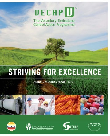 annual progress report 2010 striving for excellence - VECAP