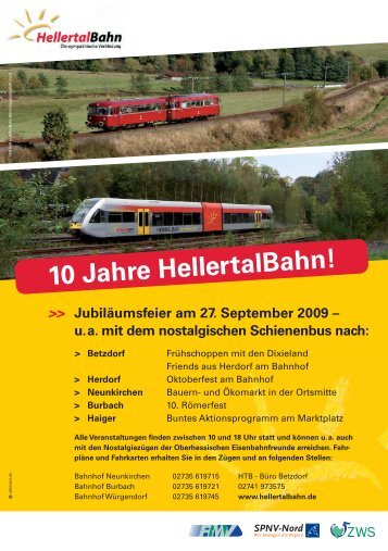 10 Jahre HellertalBahn!