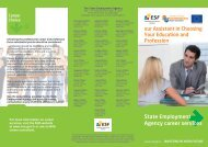 State Employment Agency career services