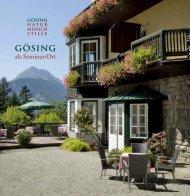 stille - Alpenhotel Gösing