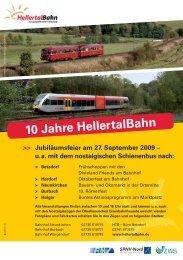 10 Jahre HellertalBahn - ZWS