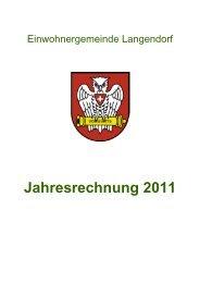 Jahresrechnung 2011.pdf - Langendorf