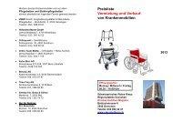 Preisliste Vermietung und Verkauf von Krankenmobilien 2013 - SRK ...