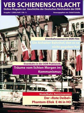 VEB Schienenschlacht, Online-Magazine, Ausgabe 11/02