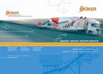 mobil beton santralları mobıle concrete batchıng plants - Göker