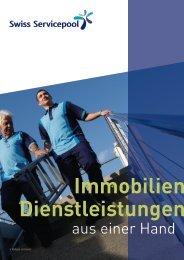 Immobilien Dienstleistungen - Swiss Servicepool AG