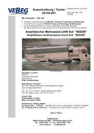 Amphibischer Mehrzweck-LKW 4x4
