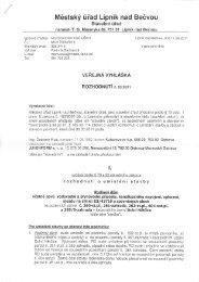 Rozhodnutí č. 53/2011 - Dolní Nětčice