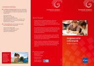 Informationsbroschüre Angewandte Informatik - Hochschule Kempten