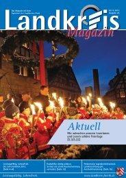 Zum Landkreismagazin Ausgabe 23 - Landkreis-Fürth