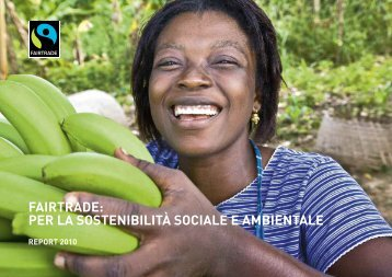 Report di Fairtrade - 13° Happening della Solidarietà