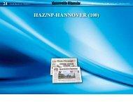HAZ/nP-HAnnoVer (100) - Hannoversche Allgemeine
