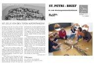 M ai und Juni 2011 - Evangelisch-lutherische Kirchengemeinde ...