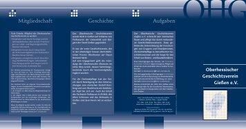 Oberhessischer Geschichtsverein Gießen eV