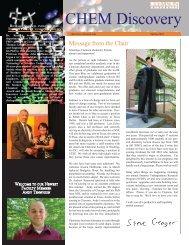 Chemistry Newsletter Spring 2010.indd - Clemson University