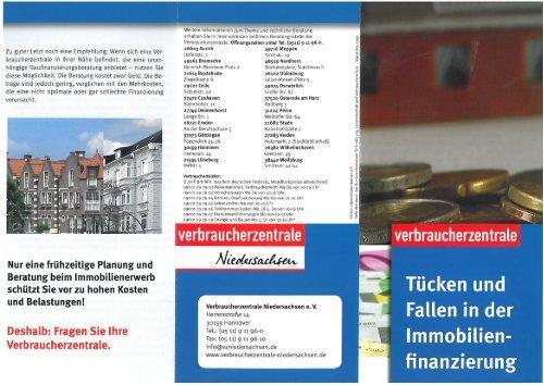 Tücken und Fallen in der Immobilienfinanzierung [Download PDF