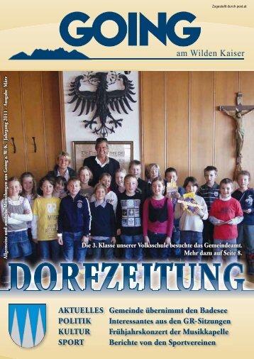 (2,99 MB) - .PDF - Going am wilden Kaiser - Land Tirol