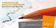 verbundstudium wirtschaftsinformatik bachelor und master