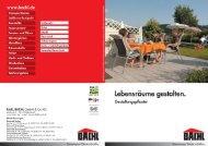 Doppelverbundstein - Karl Bachl GmbH & Co KG
