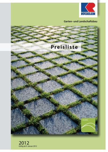 preisliste 01 2010 betonwerk carl pl tner gmbh. Black Bedroom Furniture Sets. Home Design Ideas