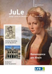 atinéen? Renaissance am Rhein - LVR-LandesMuseum Bonn