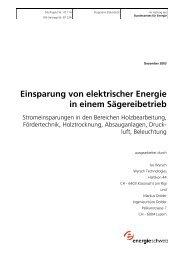 Einsparung von elektrischer Energie in einem ... - Synapool