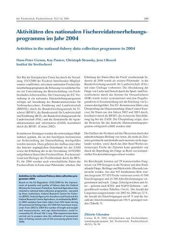 programms im Jahr 2004 - vTI