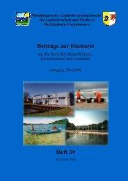 Jahrgang 2004/2005 Heft 34 - Landesforschungsanstalt für ...