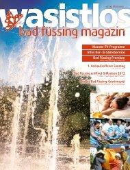 wasistlos badfüssing-magazin - Ausgabe Mai 2012 - Badfuessing ...