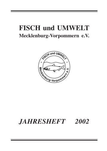 2002 - Fisch und Umwelt Mecklenburg Vorpommern eV