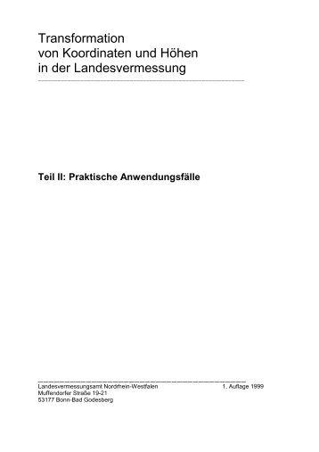 Praktische Anwendungsfälle - AFIS-NRW