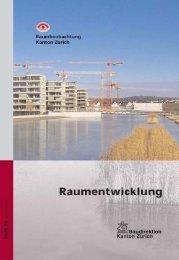 Nr. 25 - Raumentwicklung, Dezember 2007 (PDF, 10 MB - Amt für ...