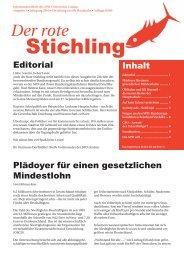 Stichling - SPD Lindau