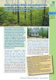 Durch gepflegte Wälder zum gepflegten Bier - Bund Naturschutz in ...