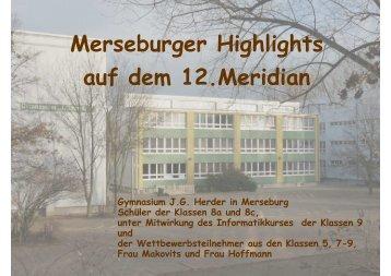 Ergebnisse - Herder Gymnasium Merseburg