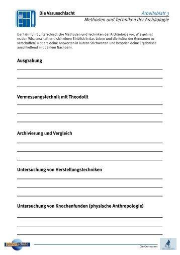Die Germanen - Im Zeichen des Kreuzes - Fragen ... - Planet Schule