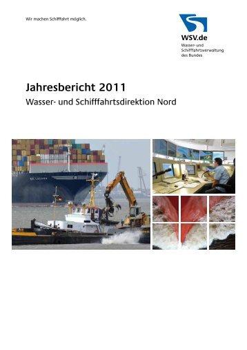 Jahresbericht 2011 - Wasser- und Schifffahrtsverwaltung des Bundes
