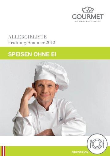 SPEISEN OHNE EI - Gourmet