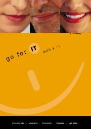eBUSINESS - go for IT