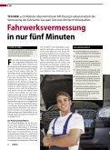 Präventive Fahrwerksvermessung als ... - API International - Page 4