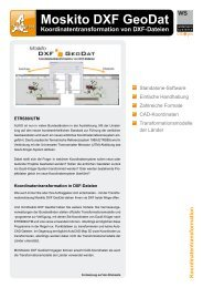 Moskito DXF GeoDat - Widemann Systeme GmbH