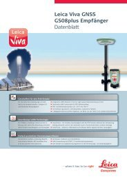 Leica Viva GNSS GS08plus Empfänger Datenblatt - Leica Geosystems