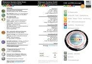 CAD- und GIS-Lösungen der Widemann Systeme GmbH