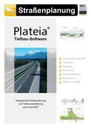 Plateia - Software für Straßenplanung - Widemann Systeme GmbH