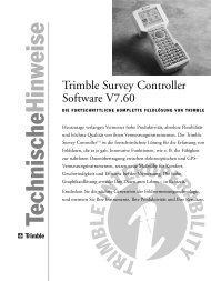 Trimble Survey Controller Software V7.60
