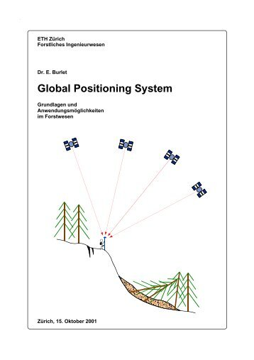 Global Positioning System - Professur forstliches Ingenieurwesen ...
