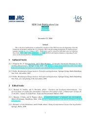 SDI Unit Publication List - EC GI & GIS Portal