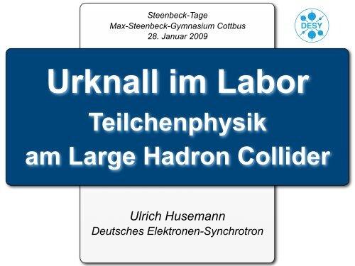 LHC - Institut für Experimentelle Kernphysik - KIT