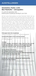ber2012 - Kunstforum Ostdeutsche Galerie Regensburg - Seite 4