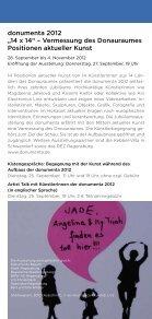 ber2012 - Kunstforum Ostdeutsche Galerie Regensburg - Seite 5